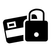 Badge paiement sécurisé