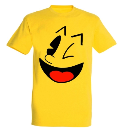 Déguishirt Pac-Man : Déguisement T-shirt de Pac-Man original