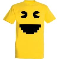 Déguishirt Pac-Man : Déguisement T-shirt de Pac-Man pixel