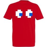 Déguishirt Pac-Man du Fantôme rouge (Déguisement T-shirt de Blinky, le fantôme rouge)