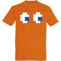 Déguishirt du Fantôme orange dans Pac-Man : Déguisement T-shirt de Clyde