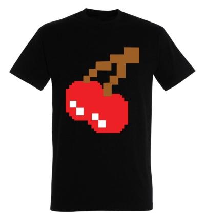 Déguishirt Pac-Man : Déguisement T-shirt des cerises Pac-Man