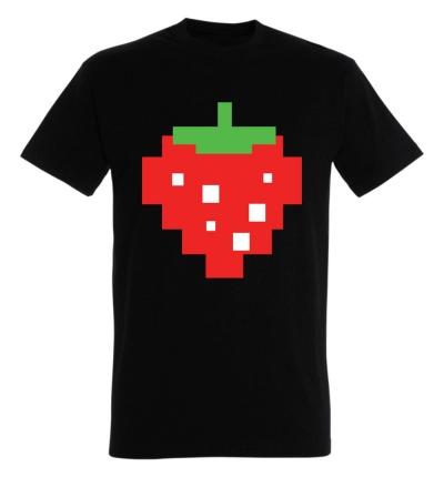Déguishirt Pac-Man : Déguisement T-shirt de Fraise Pac-Man