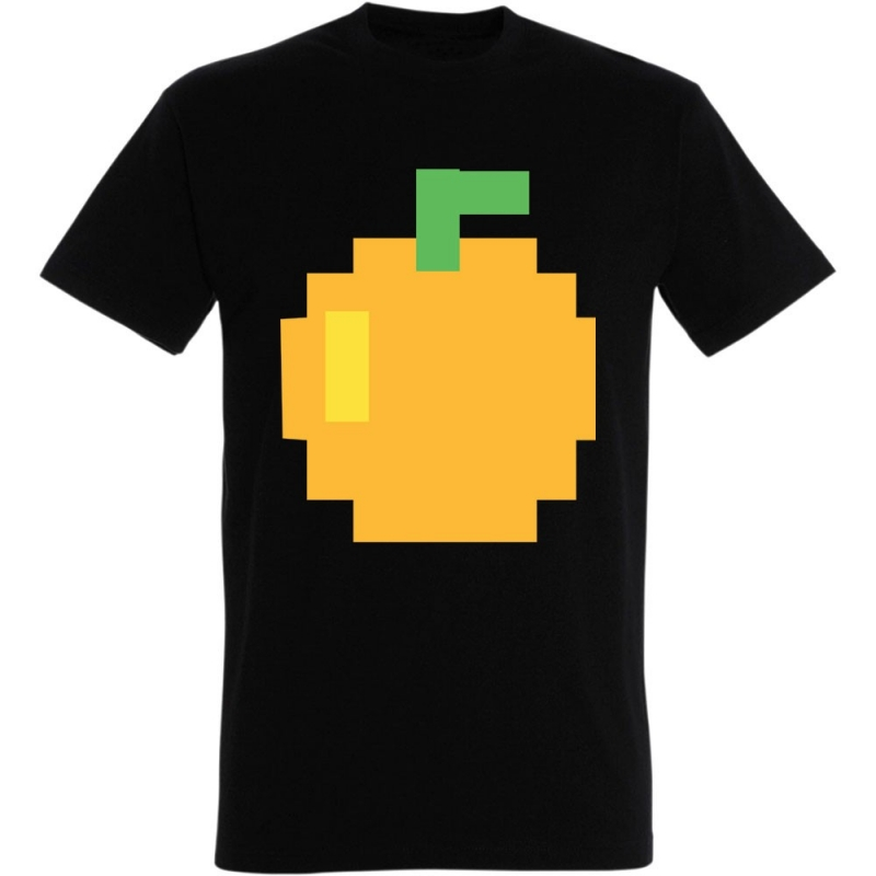 Déguishirt Pac-Man : Déguisement T-shirt de l'orange Pac-Man