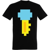 Déguishirt Pac-Man : Déguisement T-shirt de la clé Pac-Man