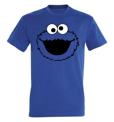 Déguishirt Série TV : T-shirt Déguisement de la tête de Macaron le Glouton / Cookie Monster