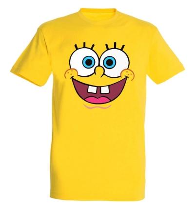 Déguishirt Bob l'Éponge (Déguisement T-shirt de Bob l'Éponge)