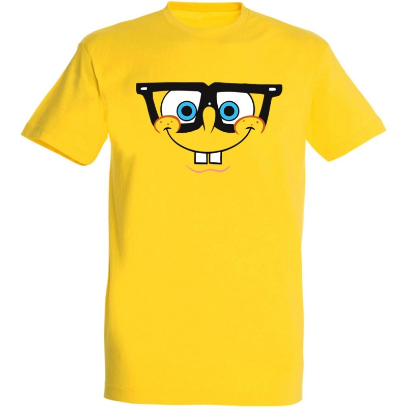 Déguishirt Bob l'Éponge : Déguisement T-shirt de Bob l'Éponge intelo