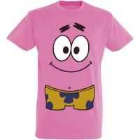 Déguishirt Bob l'Éponge : Déguisement T-shirt de Patrick Étoile en maillot de bain
