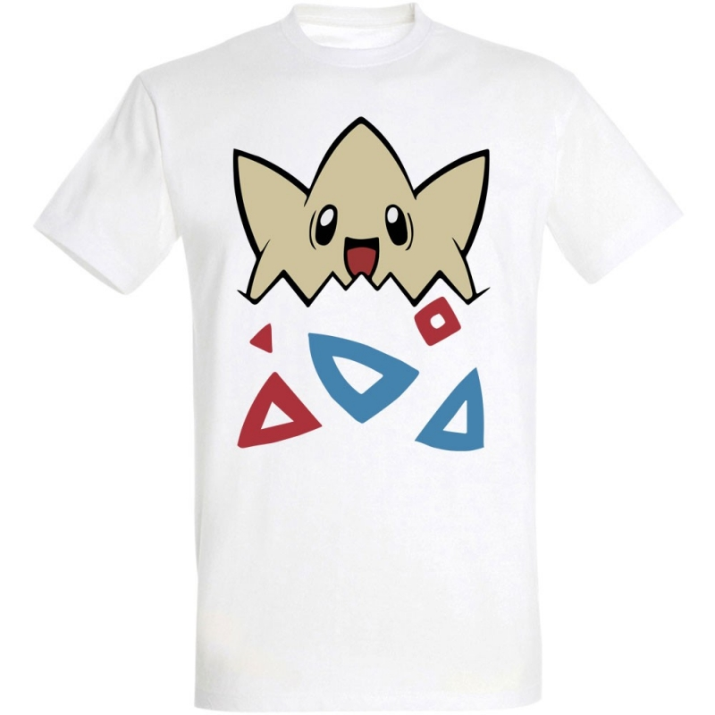 Déguishirt Pokémon Togepi : T-shirt déguisement blanc Togepi