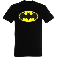 Déguishirt Super-Héros : Déguisement T-shirt noir de Batman