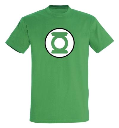 Déguishirt Super-Héros : Déguisement T-shirt vert de Green Lantern