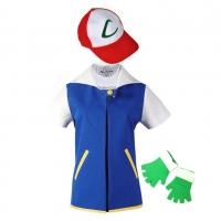 Déguisement Pokémon de Sacha Ketchum de Bourg Palette première génération