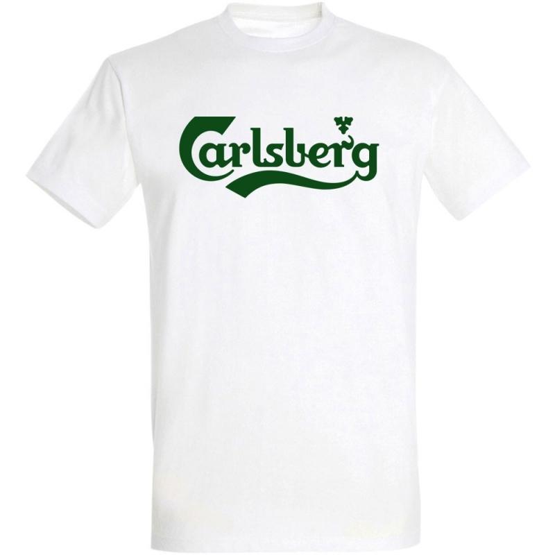 Déguishirt marque de bière : Déguisement T-shirt Carlsberg