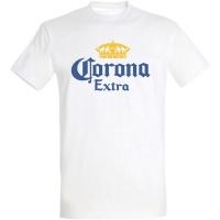 Déguishirt marque de bière : Déguisement T-shirt Corona Extra