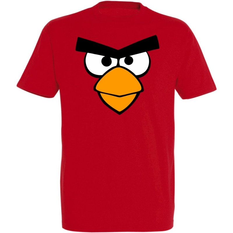 Déguishirt Angry Bird Red Rouge
