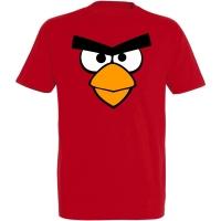 Déguishirt Jeux Vidéo : T-shirt Déguisement d'Angry Birds rouge