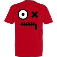 Déguishirt Futur : T-shirt Déguisement de robot rouge borgne