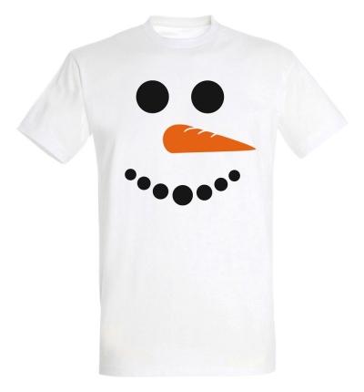 Déguishirt Hiver : T-shirt Déguisement de bonhomme de neige