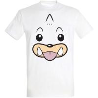 Déguishirt Pokémon Otaria : T-shirt Déguisement blanc visage Otaria