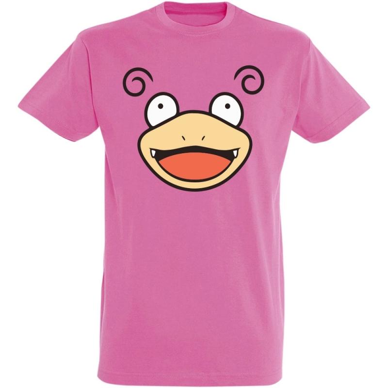 Déguishirt Pokémon Ramoloss : T-shirt Déguisement rose visage Ramoloss