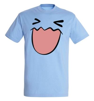 Déguishirt Pokémon Qulbutoké : T-shirt Déguisement bleu visage Qulbutoke