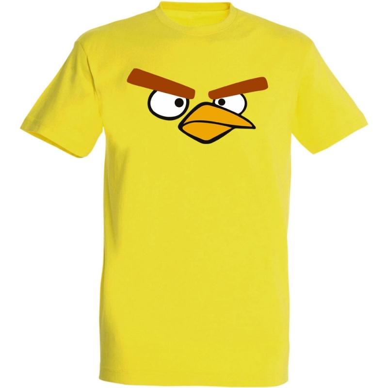 Déguishirt Jeux Vidéo : T-shirt Déguisement d'Angry Birds Jaune
