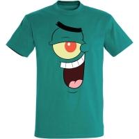 Déguishirt Bob l'Éponge : Déguisement T-shirt de Sheldon J. Plankton cool