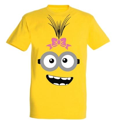 Déguishirt de Minion : T-shirt Déguisement de minion fille