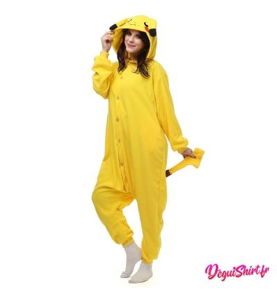 Déguisement Pokémon Pikachu : Pyjama Kigurumi Pikachu