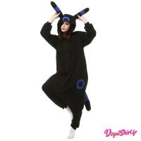 Déguisement Pokémon Noctali Shiny adulte : Pyjama Kigurumi Noctali Shiny Homme Femme
