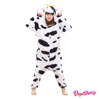 Déguisement kigurumi de vache