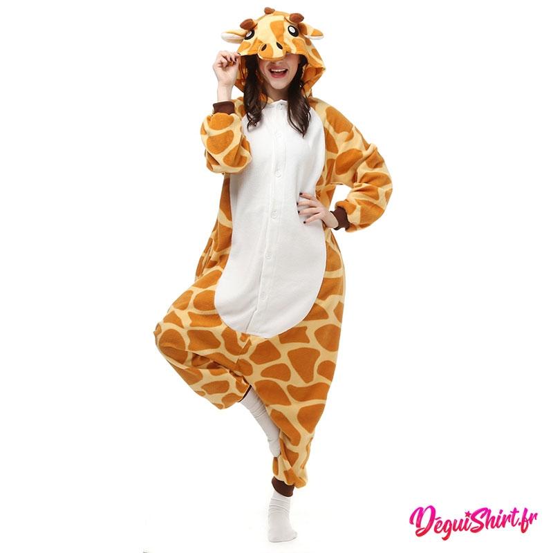 Déguisement kigurumi de girafe