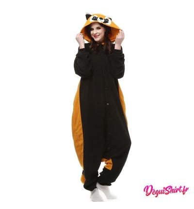 Déguisement kigurumi Panda roux