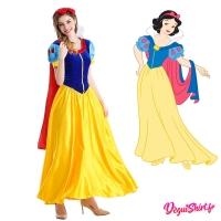 Costume robe réaliste de Blanche Neige (Disney)