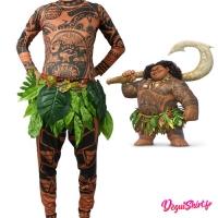 Costume réaliste de Moana Maui (Disney Vaiana)