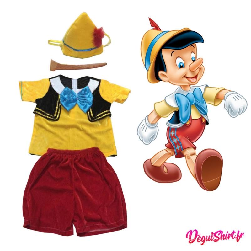 Costume réaliste de Pinocchio (Disney)