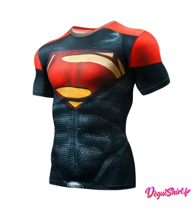 Déguishirt Superman : T-shirt Déguisement Justice League DC