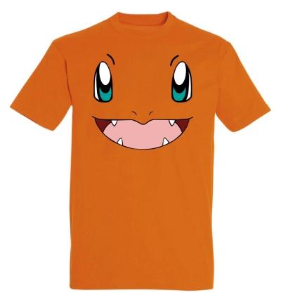 Déguishirt Pokémon : T-shirt déguisement de Salamèche