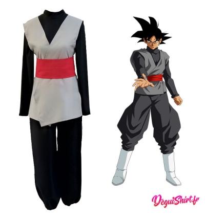 Déguisement Dragon Ball de Black Goku