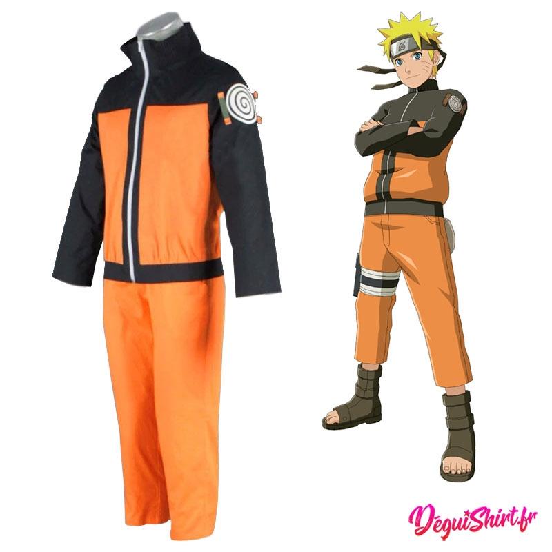 Déguisement Naruto : Costume réaliste de Naruto