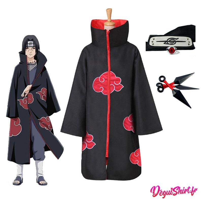 Déguisement Naruto : Costume réaliste Itachi Uchiwa