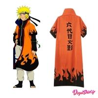 Costume Naruto : Manteau/Cape 6ème Hokage