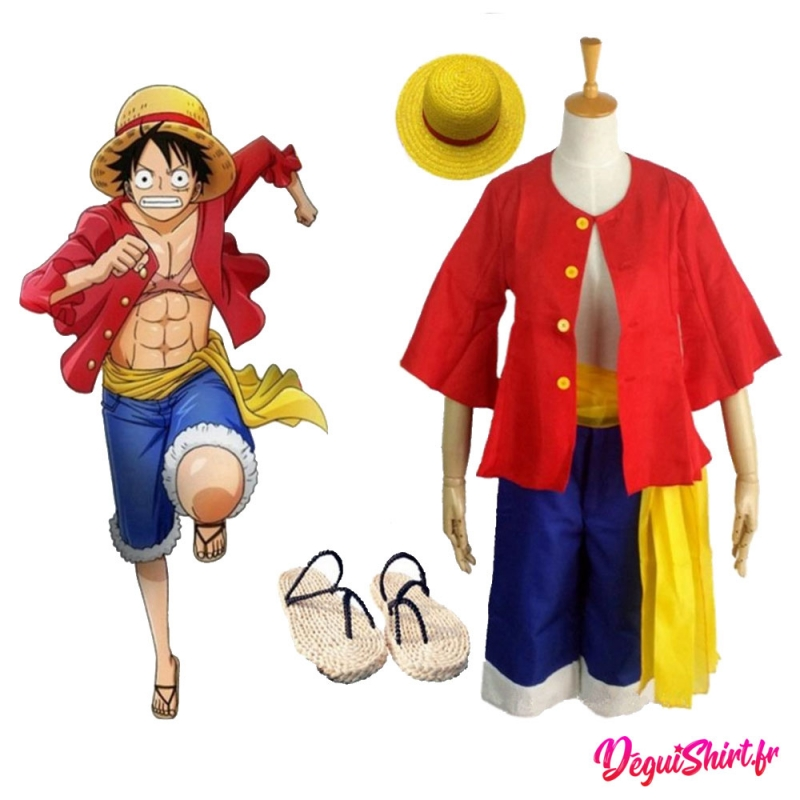 Déguisement Luffy One Piece