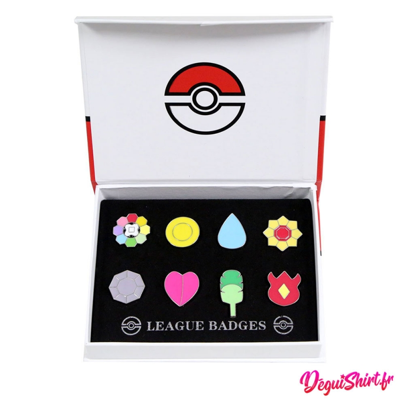 Badges Pokémon de la ligue Indigo (Région de Kanto)