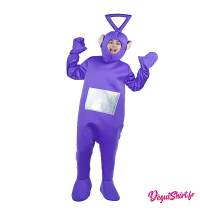 Déguisement Teletubbies violet adulte