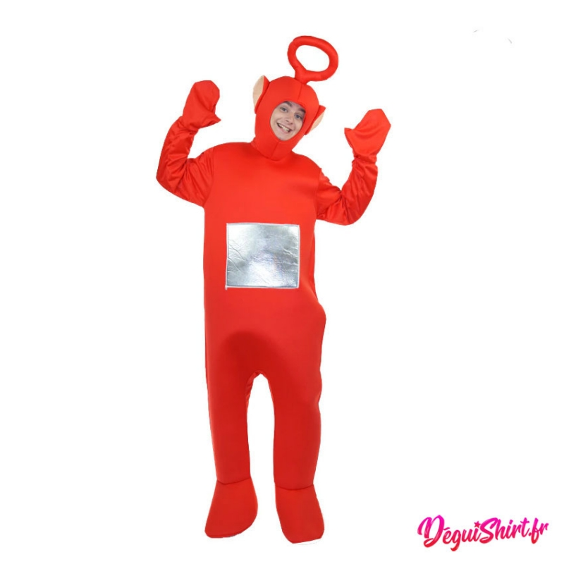 Déguisement Teletubbies rouge adulte