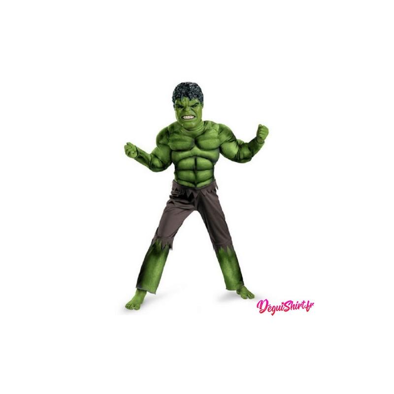 Déguisement Hulk réaliste enfant garçon