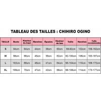 Tableau des tailles du Déguisement Chihiro Ogino (Voyage de Chihiro)