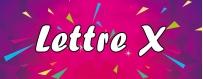 DeguiShirt.fr - Costumes & T-shirts déguisement Thème Lettre X